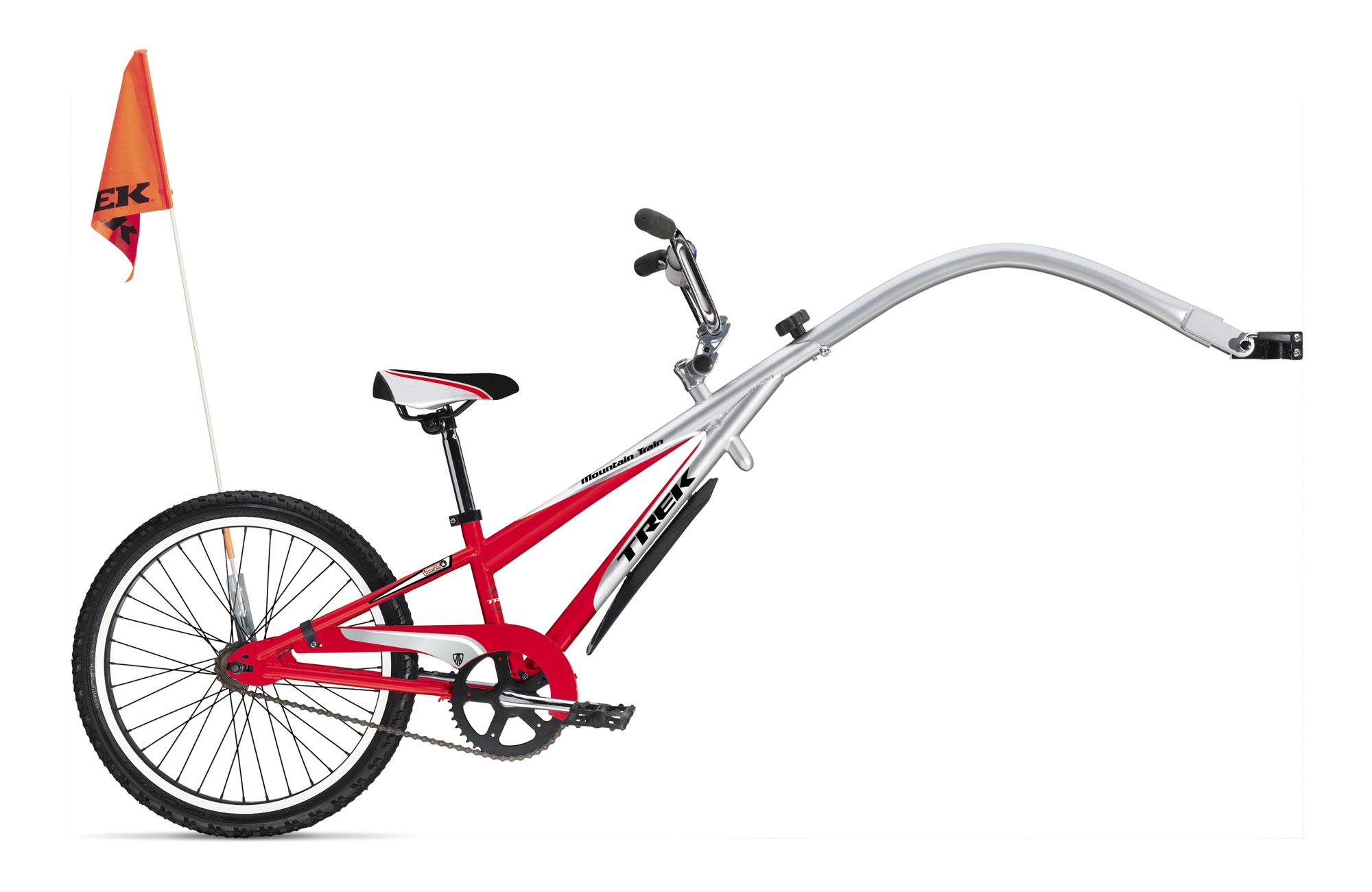 Схема прицепа к велосипеду