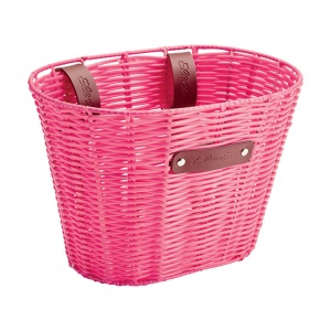 Electra Plastic Woven Small Pink Basket.jpg